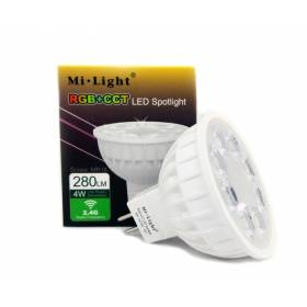 4W RGB+CCT MR16 12V LED smart bulb Wifi, 2.4 GHZ
