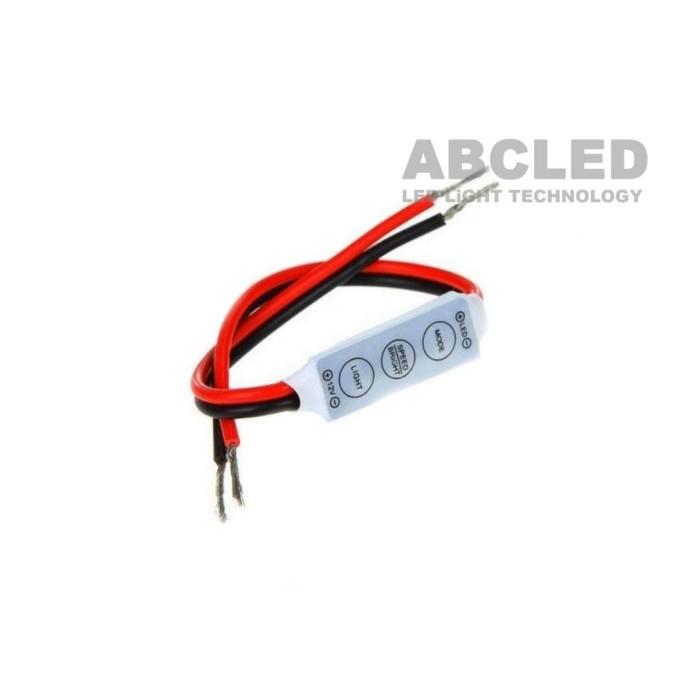 Abcled.ee - LED диммер mini для одноцветной ленты 12V