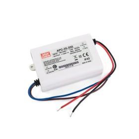 LED драйвер 28-100V 350mA 35W IP42 APC Mean Well