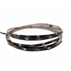 SK6812 Pixel RGB LED Strip 3535smd, 30Led/m, 7.2W/m, 5V PCB Black 4mm Premium