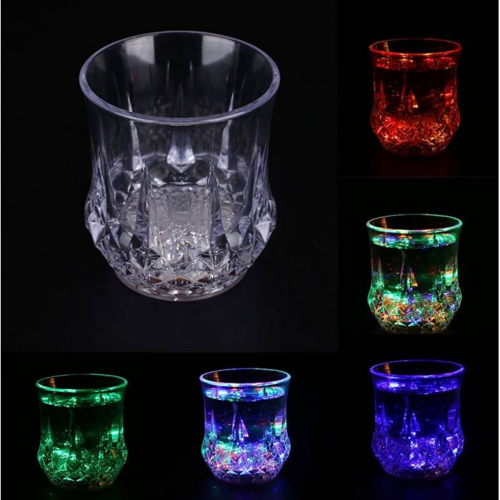Abcled.ee - Plastic glass with LED lighting