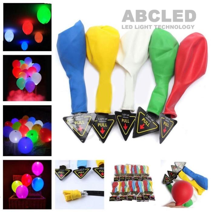 Abcled.ee - Светодиодные воздушные светящиеся шарики