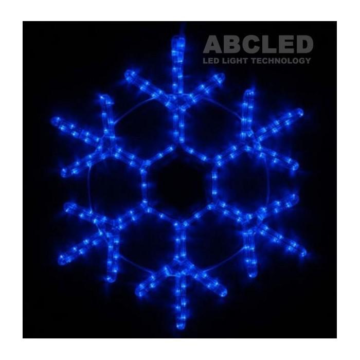 Abcled.ee - LED snowflake 40cm IP65 Blue