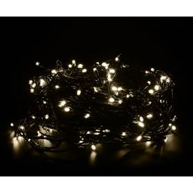 Outdoor Led Christmas lights 200Led 14m IP44 warm white + cold white flickering
