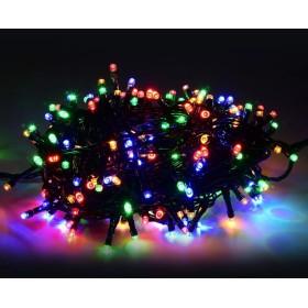 Led välis jõulutuled 200Led 14m IP44 RGB + külm valge vilkuv