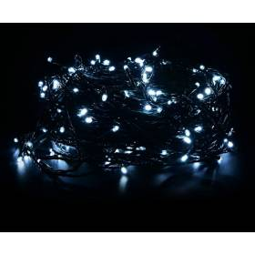 Outdoor Led Christmas lights 200Led 14m IP44 cold white with flickering