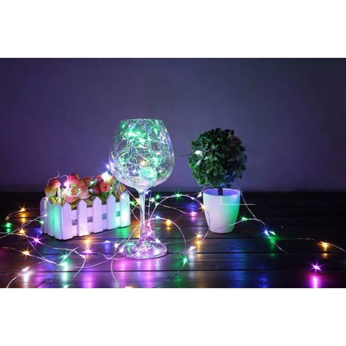 Abcled.ee - Decorative Christmas lights RGB 20Led 2m with