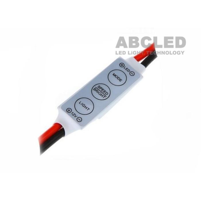 Abcled.ee - LED dimmer mini for monochrome strip 12V