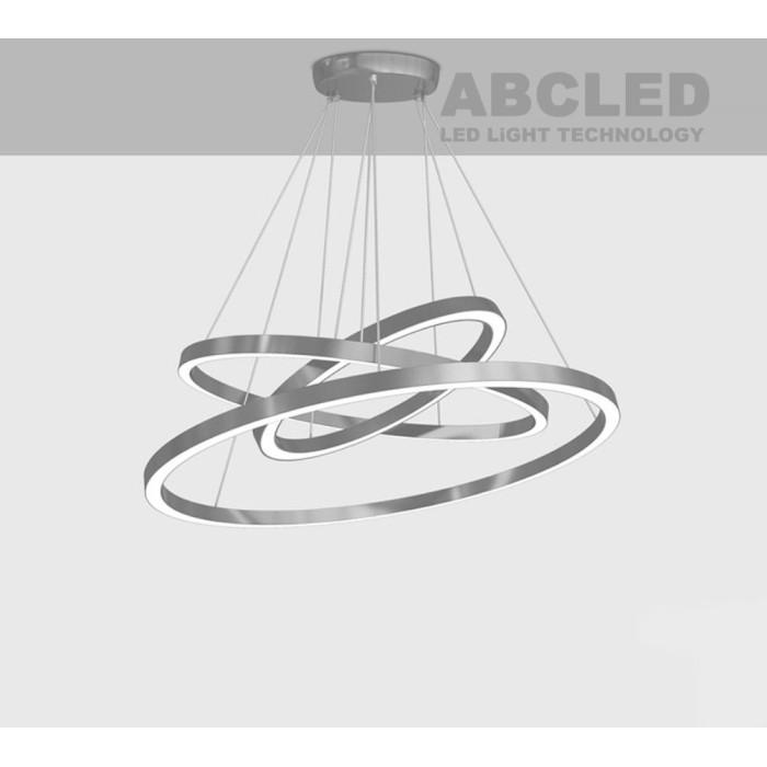 Abcled.ee - Led rõnga rippvalgusti 3in1 4000K 10W/m trossiga