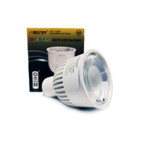 6W RGB+CCT GU10 220V LED smart pirn Wifi, 2.4 GHZ