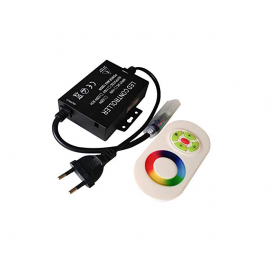 LED RGB RF controller with touch remote controller 220V