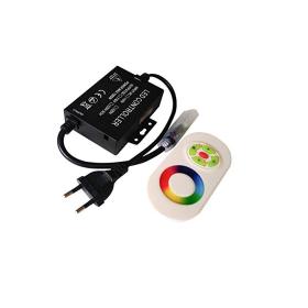 LED RGB RF kontroller touch puldiga 220V